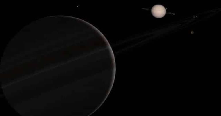 Saturn und Jupiter – Grenzen des Wachstums